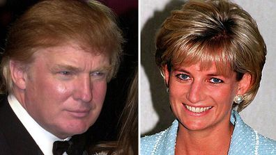 Trump made comments about Princess Diana the year of her death.