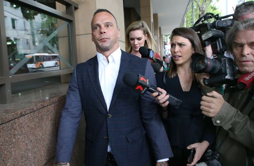 Jake King has been charged with possessing steroids, along with charges of extortion and making threats to kill. (AAP)