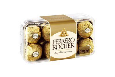 Ferrero Rocher: 74 calories/308kj