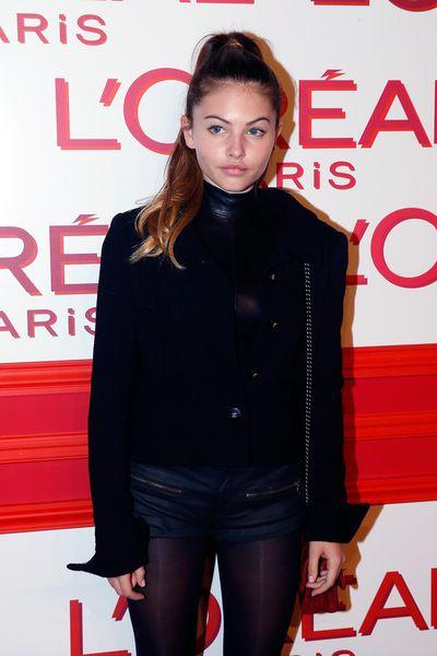 <p>Thylane Blondeau.</p> <p>Paris, March 2016.<br> <br> </p>