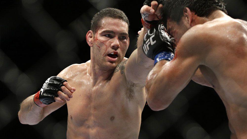 UFC star reveals eye-watering injury