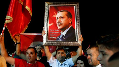 The election victory is set to deliver President Erdogan sweeping new powers. (AP).