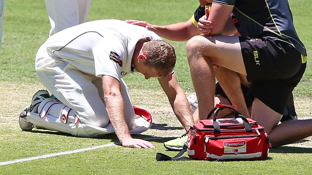 Voges out of WA Shield with concussion