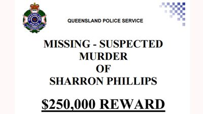 <p>Ms Phillips has not made contact with anyone since her disappearance, nor has her body been found.<br> <br> Police have offered a $250,000 reward for information that leads to the arrest and conviction of the person or people responsible for her disappearance and suspected murder. </p>