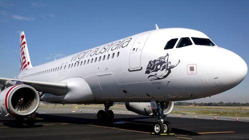 The flight was diverted back to Brisbane.