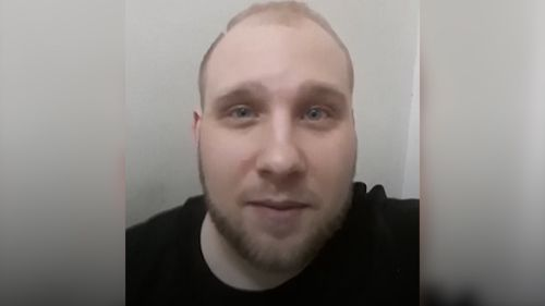 Joshua Holt makes a desperate plea for help from inside a Venezuela prison. Picture: Supplied