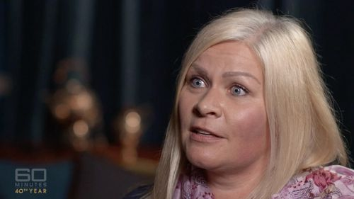 """Tiina Juahiainen said the princess """"felt like she had nothing to lose"""". Picture: 60 Minutes"""