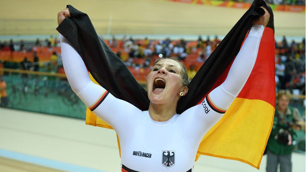 Olympics: Germany's Vogel wins women's cycling sprint gold