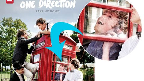 One Direction's new album cover revealed: Crouching boyband, hidden Niall