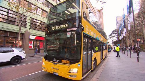 The success of the services between the Northern Beaches and Wynyard help sway the government. Picture: 9NEWS
