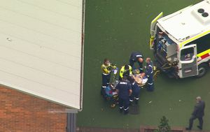 Man unconscious after falling from roof on Sydney's north shore