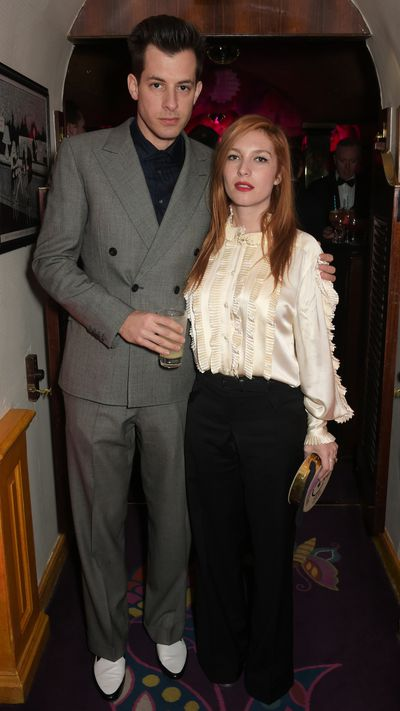 <strong>The new romantics<br>Mark Ronson andJoséphine de la Baume</strong>