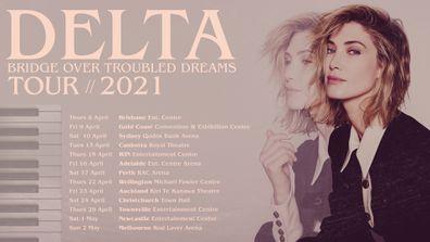 Delta Goodrem's tour