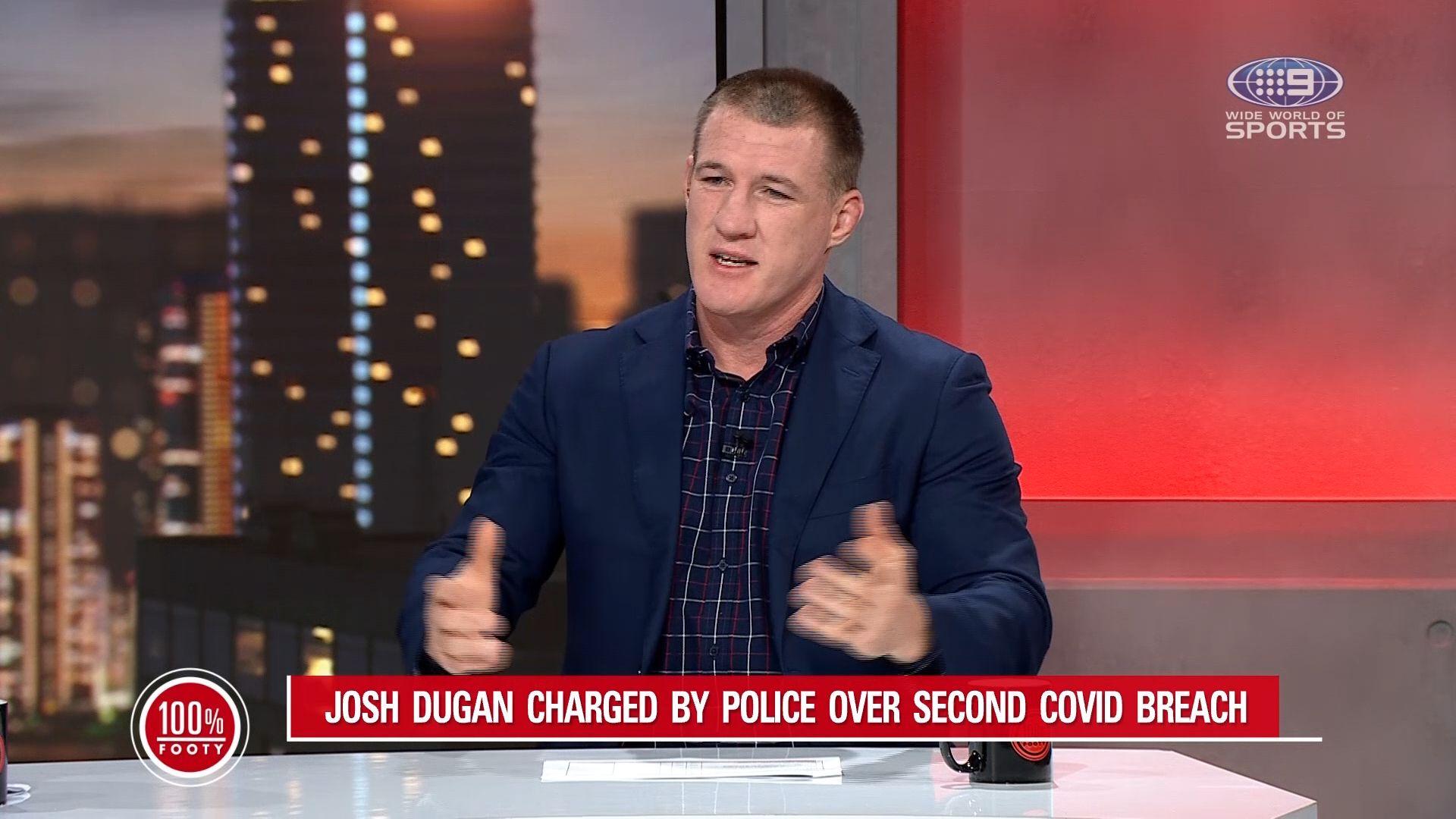 NRL whacks Josh Dugan with massive fine for second breach of COVID-19 protocols