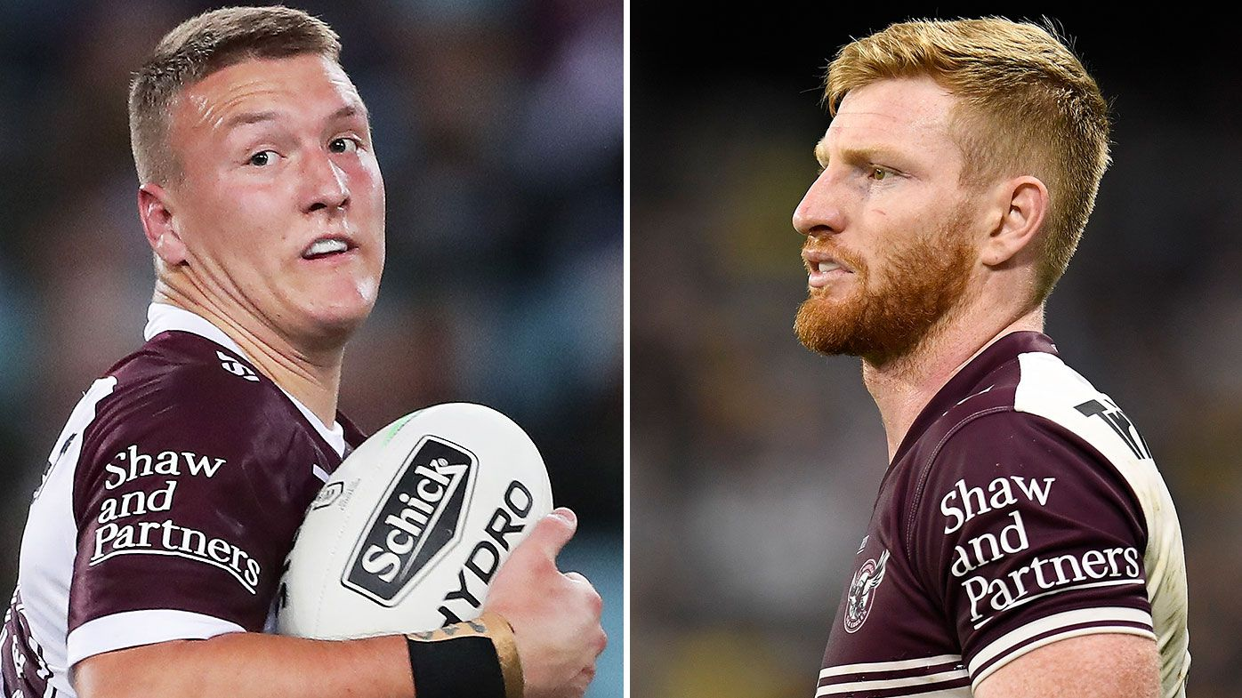 Manly duo Sean Keppie and Brad Parker will face the Rabbitohs, says coach Des Hasler