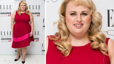 Rebel Wilson won the 'Rising Star' award. (Getty)