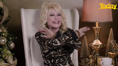 It was an emphatic 'no' from Parton.