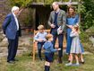 David Attenborough holds special screening for Cambridges