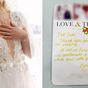 Bride's sassy note to woman who wore white to her wedding