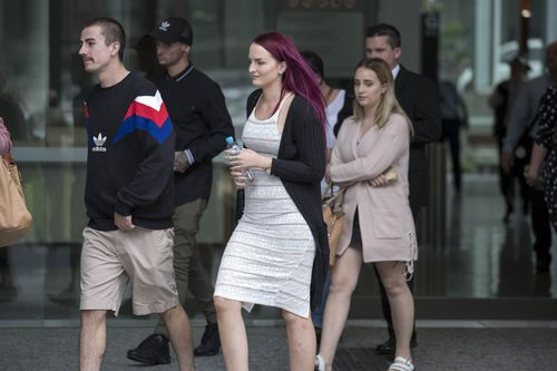 The witness's girlfriend told the court her boyfriend owned a replica pistol. (AAP)