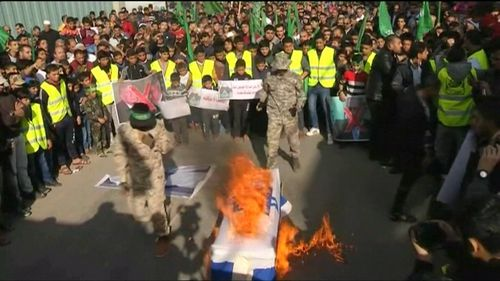The US decision to move its embassy sparked violent protests.