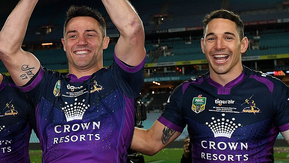 NRL: Billy Slater responds to Cooper Cronk's reported interest in signing with a Sydney club