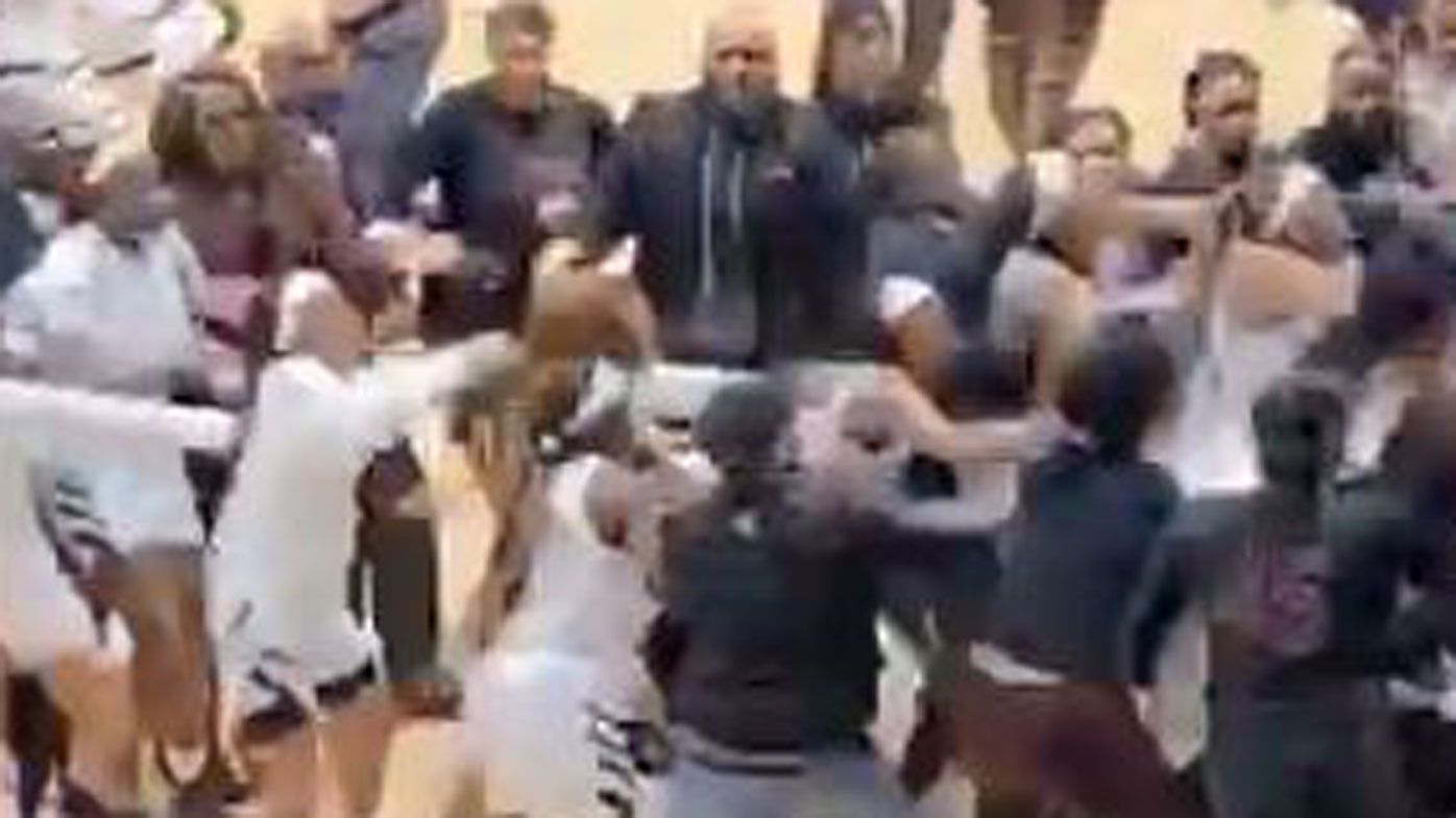 Texas Southern vs Alabama State handshakes descend into wild brawl after game