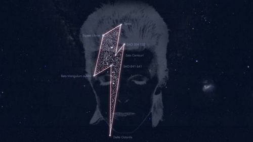 Belgian astronomers name constellation after David Bowie