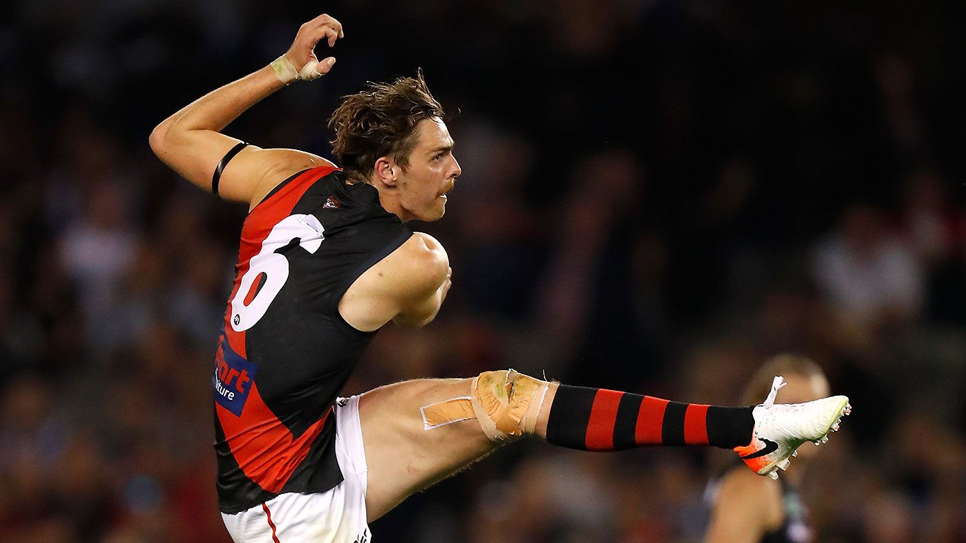 Essendon star Zach Merrett says Joe Daniher yet to make decision on playing future