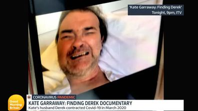 Derek Draper, 53, appeared close to tears in footage shot for the ITV documentary Finding Derek.