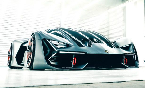 Lamborghini unveils all-electric 'self-healing' hypercar