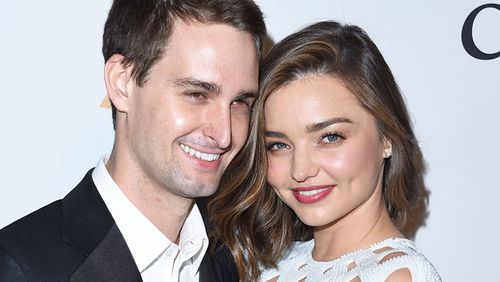 Kerr and Spiegel began dating in 2015 and became engaged last year.