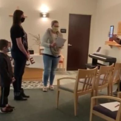 Couple marry over facetime as groom contracts coronavirus