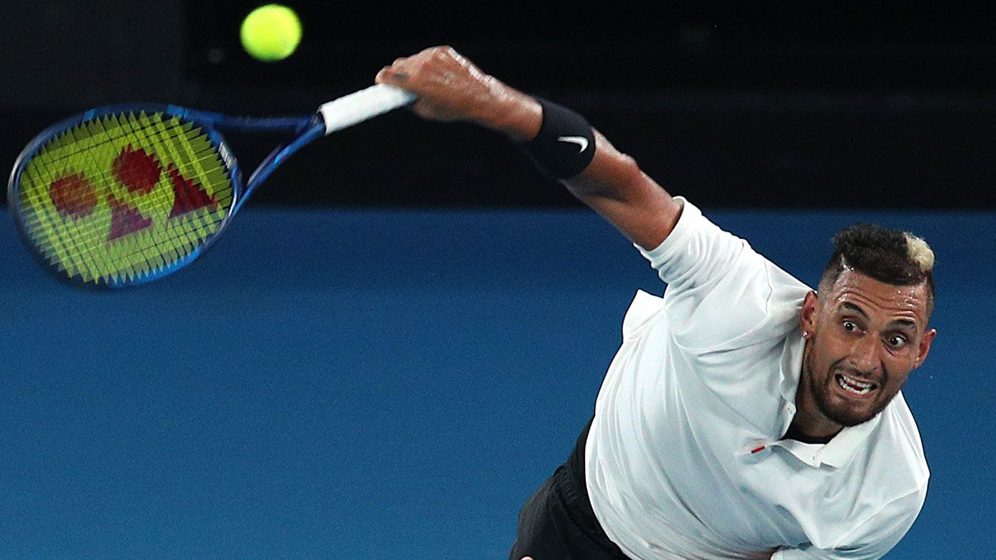 How bush fire fundraising is helping Nick Kyrgios' Australian Open campaign