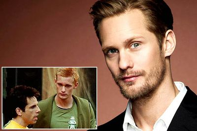 "<B>You know him as...</B> Eric Northman, the swoonworthy vampire from <i>True Blood</i>.<br/><br/><B>Before he was famous...</B> Check out the 2001 comedy Zoolander and you'll see that Derek's male-model buddy Meekus (""Earth to Meekus!"") is played by Alexander. Don't expect him to come back if they ever get around to making that Zoolander sequel, though: Meekus died in a petrol fight that went badly wrong. As petrol fights so often do."