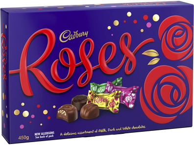 Cadbury Roses variety box of chocolates