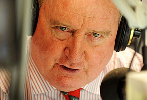 Alan Jones in studio (AAP)