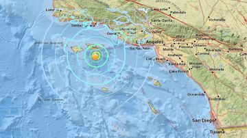 5.3 magnitude earthquake california