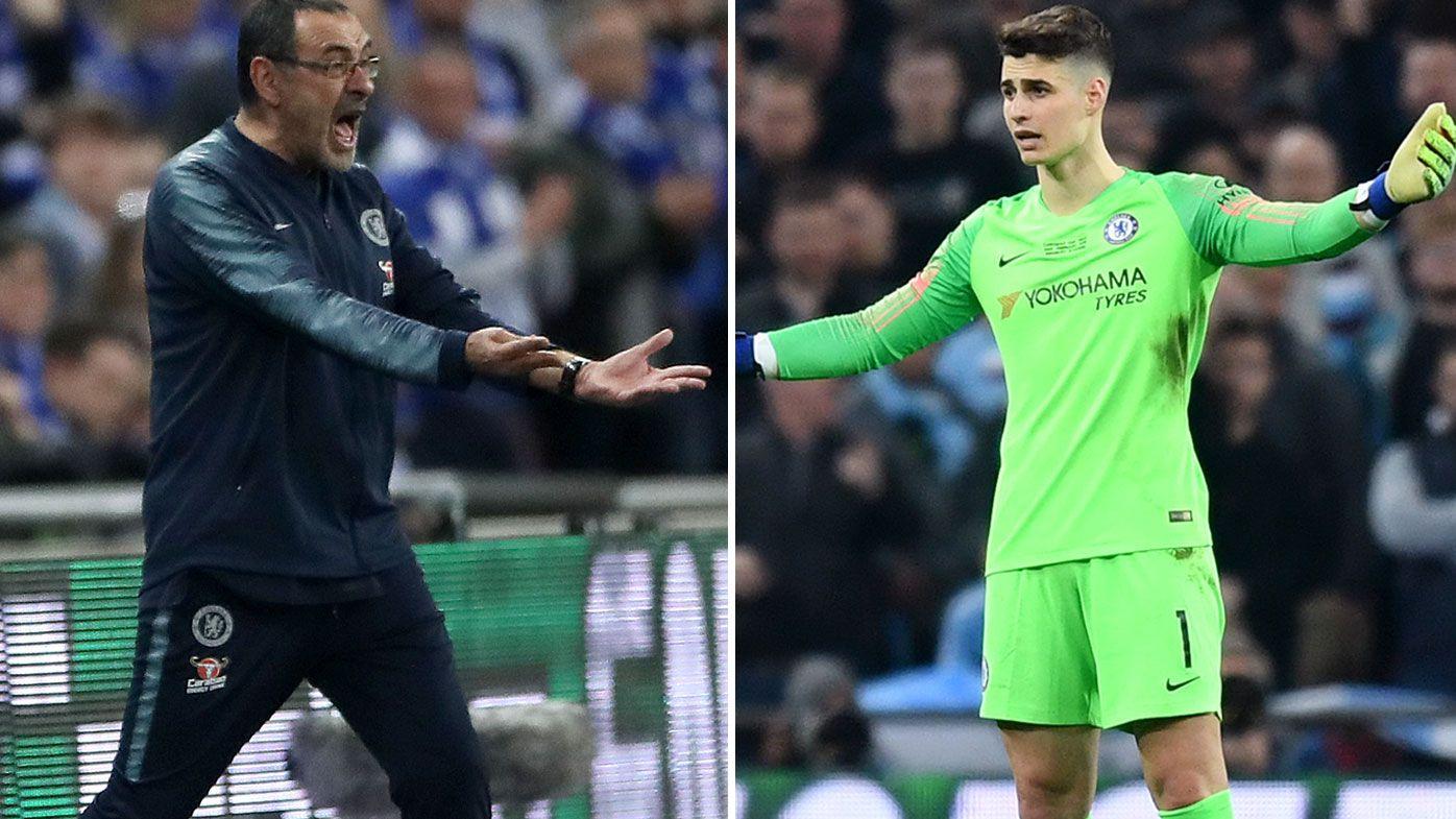 How Chelsea's Kepa Arrizabalaga's defiance spells the end of 'misunderstanding' Maurizio Sarri