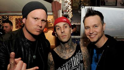 Blink 182 were kept in lock down at an El Paso hotel the morning a gunman killed 20 people.