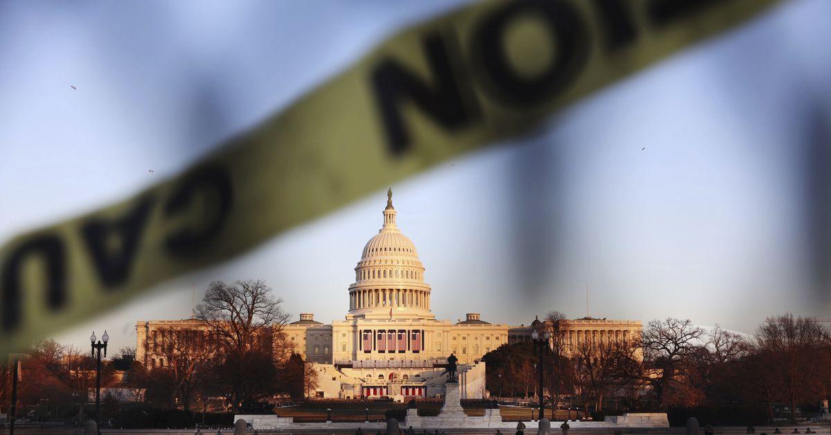 Washington locks down amid safety concerns ahead of Biden's inauguration
