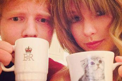 She even has a mug with Meredith's, er, mug on it!