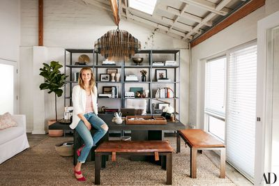 """<p>Working from home is having a moment, with around 3.5 million Aussies regularly working from home sweet home. To get in the right frame of mind, it pays to create a stylish and stimulating space. Take inspiration from Gwyneth Paltrow's revamped goop.com headquarters in Santa Monica.  """"We wanted to preserve the spirit of our first office — raw, energetic, filled with natural light, very California,"""" she told Architectural Digest of her design strategy. Flick through our gallery of heavenly home office accessories with a modern metallic edge.</p>"""