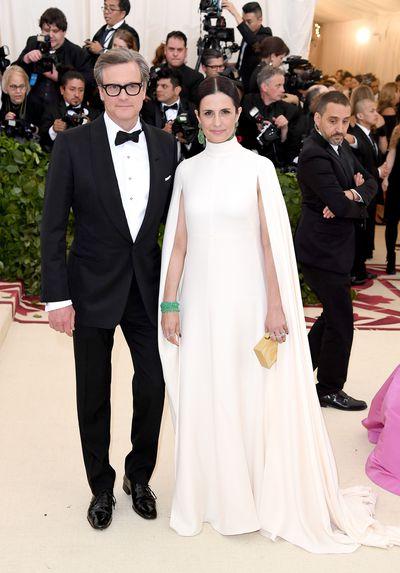 Actor Colin Firth and producer Livia Giuggioli
