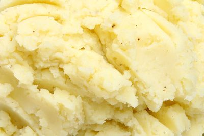 Potato (mashed, homemade): 1.41g sugar per 100g