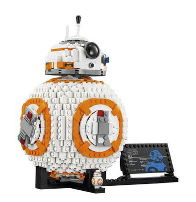 "<p>Technically Lego is for kids but we all know that's just a myth. Lego is for everyone. Better still, a Lego build will keep small hands busy and little minds entertained and the adult versions too. Sweet.</p> <p><a href=""http://shop.davidjones.com.au/djs/en/davidjones/lego-star-wars-bb-8"" target=""_blank"" draggable=""false"">Lego Star Wars BB-8, $159.99.</a></p>"