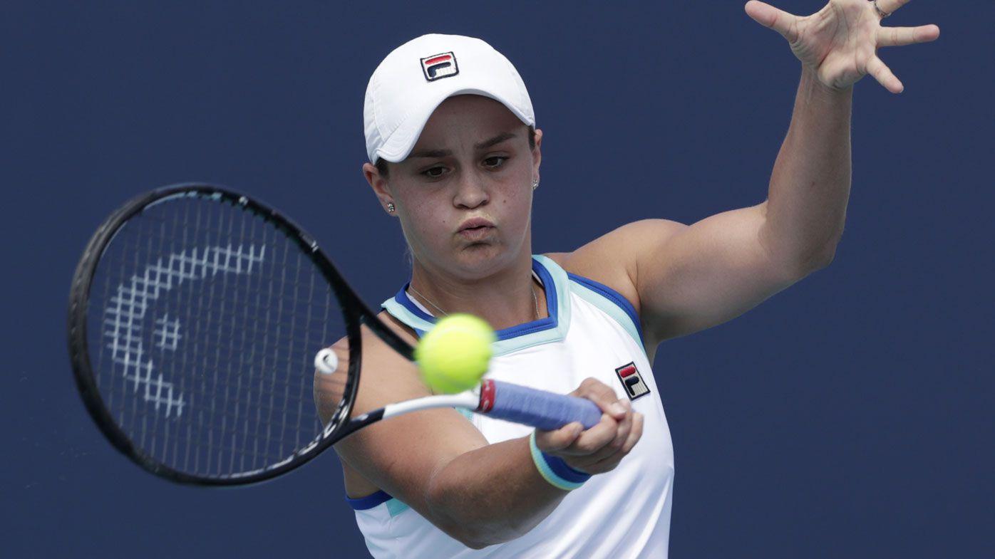 Ash Barty crushes fellow Australian Samantha Stosur in Miami Open