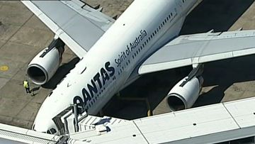 Qantas cabin crew injured