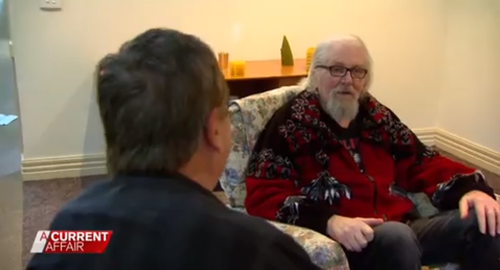 Darrell Eastlake's last interview was with A Current Affair's Brady Halls.