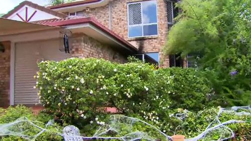 The Gould family home was targeted. (9NEWS)